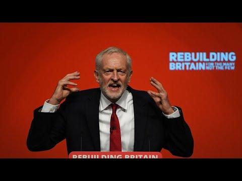 زعيم حزب العمال يقدم مشروعا لقيادة بريطانيا رغم الانقسامات داخل حزبه حول بريكسيت