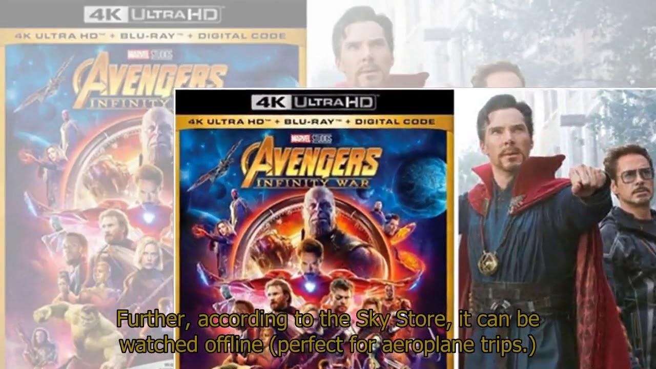 avengers infinity war release date uk dvd