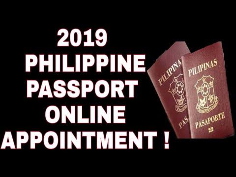 PASSPORT ONLINE APPOINTMENT / AUGUST 2019