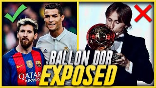 The Stupid Reason Modric Won The Ballon D'or Instead Of Messi & Ronaldo!