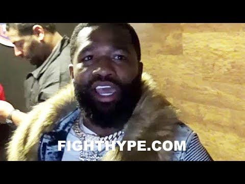 ADRIEN BRONER GOES OFF AFTER BEING DENIED ACCESS TO ROBERT EASTER FOLLOWING WIN OVER FORTUNA