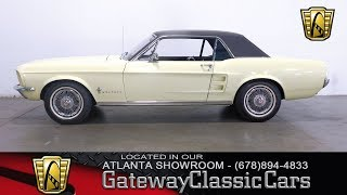 1967 Ford Mustang - Gateway Classic Cars of Alanta #481