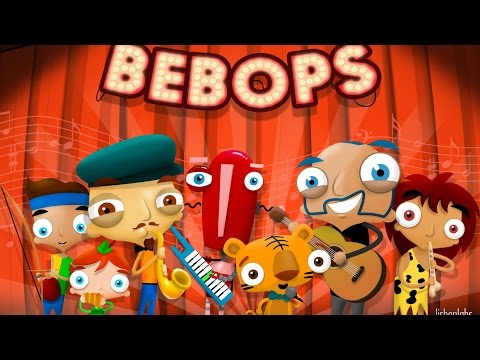 bebops---lustige-band-musik-app-für-kinder,-android,-ipad,-iphone