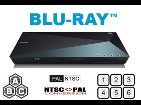 Sony Region Free Blu-ray Player Unboxing & Test (S5100)