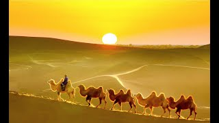 The sun over the placid world - Norovbanzad (The best artist of Mongolia)
