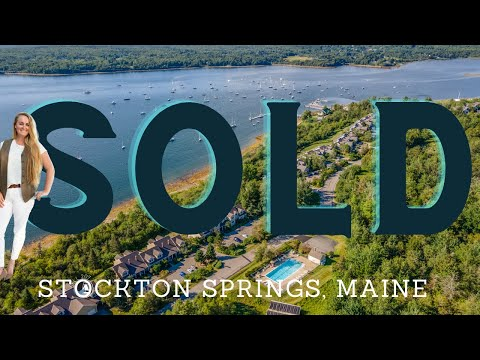 On the shores of Penobscot Bay. 57 Harbor View Drive, Stockton Springs