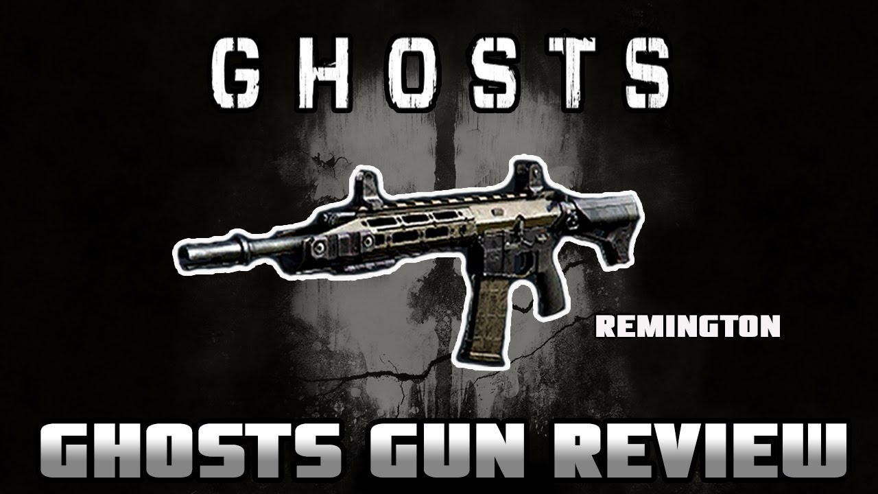 Ghosts Gun Review: Remington R5 (Assault Rifle) (Detailed ...  Ghosts Gun Revi...