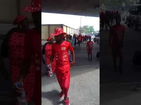 Togolese Protest at ECOWAS, Togo Embassy in Lagos (Part 1)