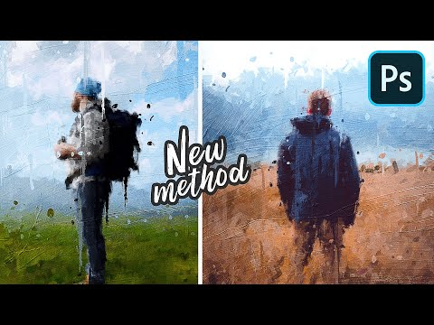 Photo to Oil Painting Effect (With NO Drawing Skills) - Photoshop Tutorial