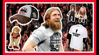Daniel Bryan | WEIRDEST WWE Merchandise Items | Hats, Figures, Toys, T Shirts & Monkeys!