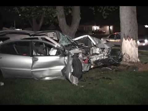 Major Accident East Joliet Fire Rescue Car Vs Tree Youtube