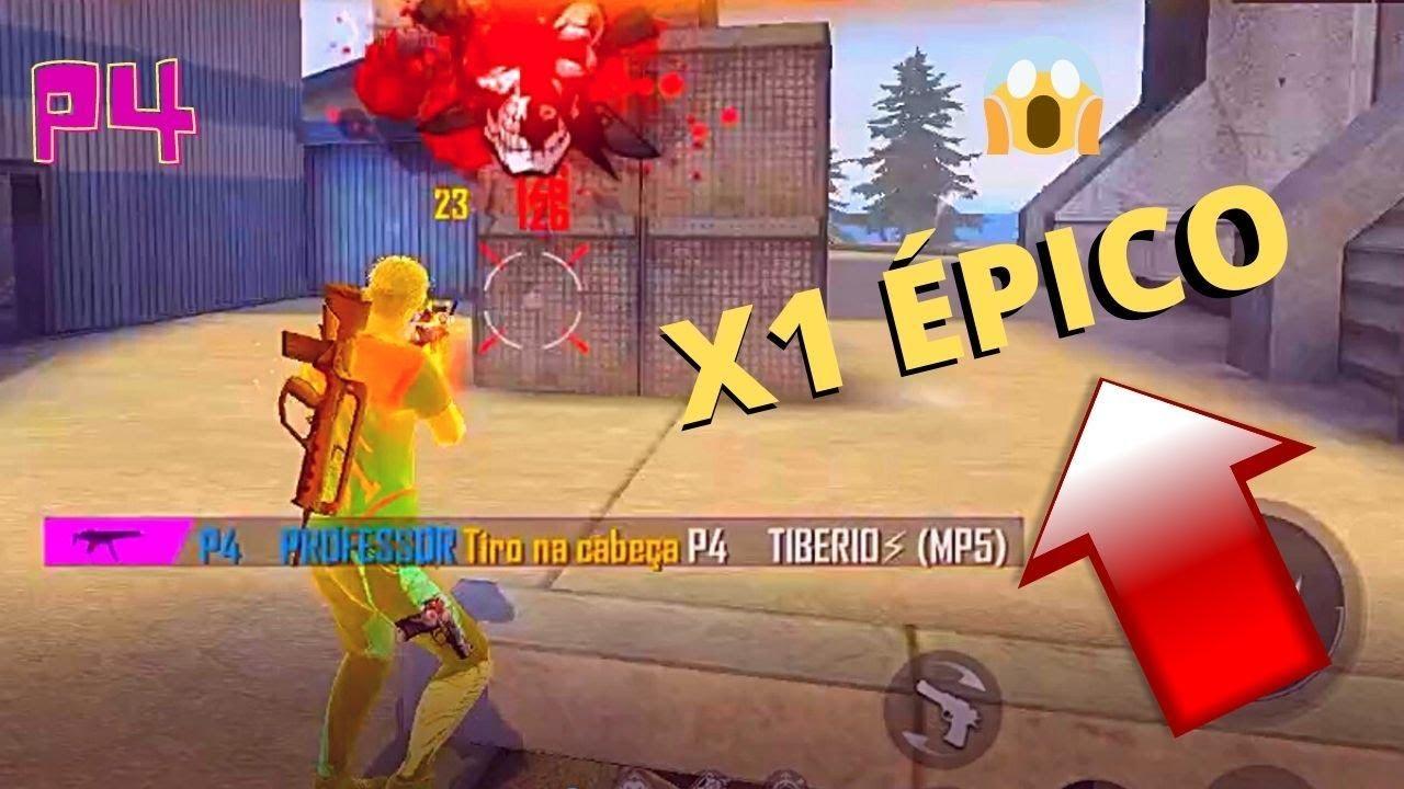 Download P4 PROFESSOR VS P4 TIBERIO X1 ENTRE PRO PLAYERS DO FREE FIRE