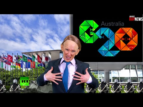 Juice Rap News: G20 Pageant with Tony Abbott (ft. Scott Ludlam)