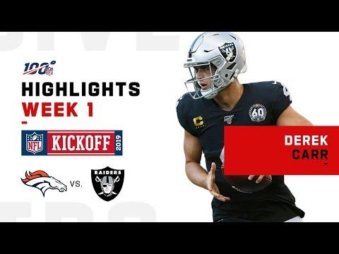 Derek Carr's Clutch Night, Throws 21/26 | NFL 2019 Highlights