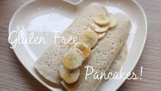 Light & Fluffy Gluten Free Pancakes!