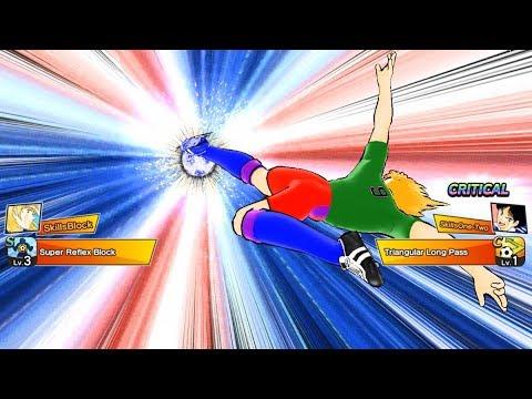 Captain Tsubasa: Dream Team - Pierre - Super Reflex Block