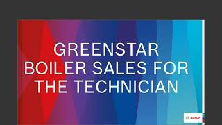 A techinicians guide to selling Greenstar Boilers 20200923 1502 1