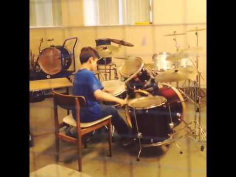 Drumming Peterhead rock school