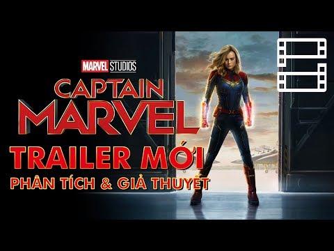 CAPTAIN MARVEL - Phân tích trailer mới & Giả thuyết