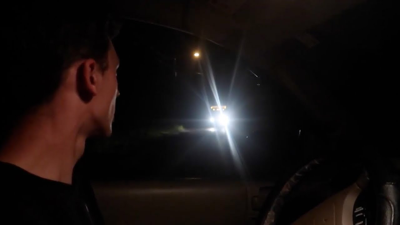 My scariest clinton road experience ever phantom trucks
