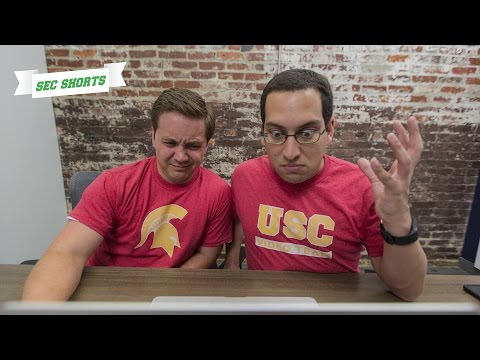 SEC Shorts -  USC video team struggles with post game hype video