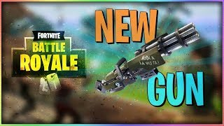 FORTNITE|**NEW MINI GUN!? **|8011 KILLS| 334 WINS| GIVEAWAY @ 500 SUBS!