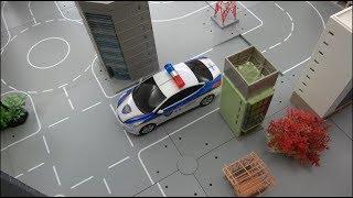 헬로카봇 경찰차 로봇 장난감 운전놀이 Hello Carbot Police Car Robot Toys Drive Play