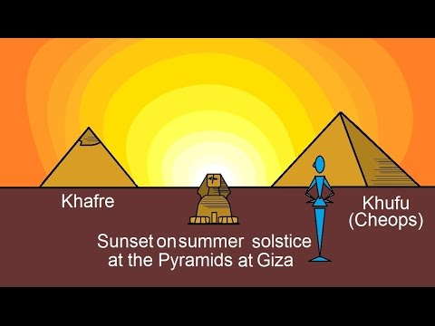 Astronomy - Ch. 4: History Of Astronomy (2 Of 16) Ancient Structures And Astronomical Links: Egypt