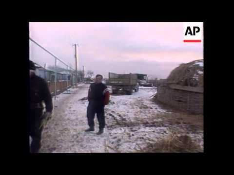 RUSSIA: CHECHNYA: REBEL LEADER TALKS ABOUT HOSTAGE SITUATION
