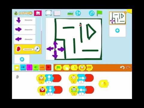 Create a Maze Game in PBS Scratch Jr.
