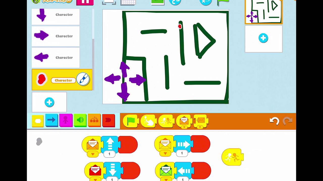 Create a Maze Game in PBS Scratch Jr