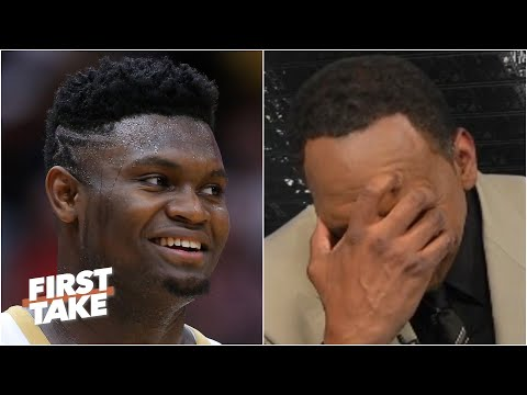 Stephen A. reacts to Zion's comments about the Knicks   First Take