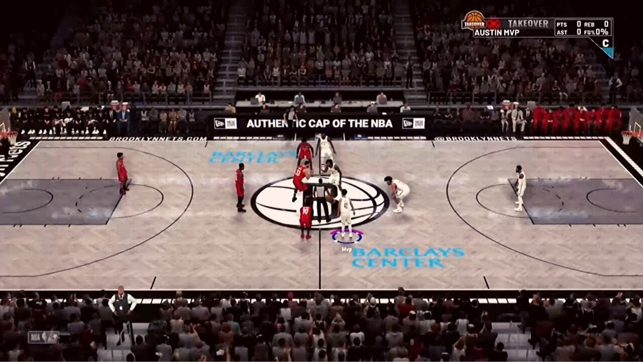 New Brooklyn Nets Court Revealed In Nba 2k20
