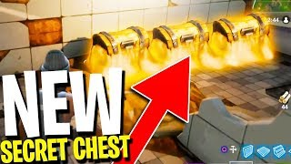 *NEW* SECRET CHEST LOCATION FOUND! (Fortnite Battle Royale NEW MAP SECRET CHESTS)