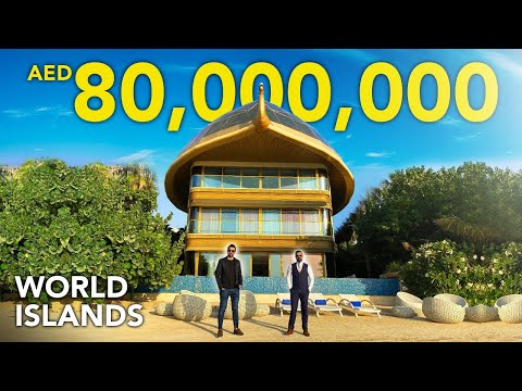 INSIDE A 80,000,000 ISLAND PALACE IN DUBAI'S WORLD ISLAND | Heart of Europe SWEDEN PALACE | VLOG 40