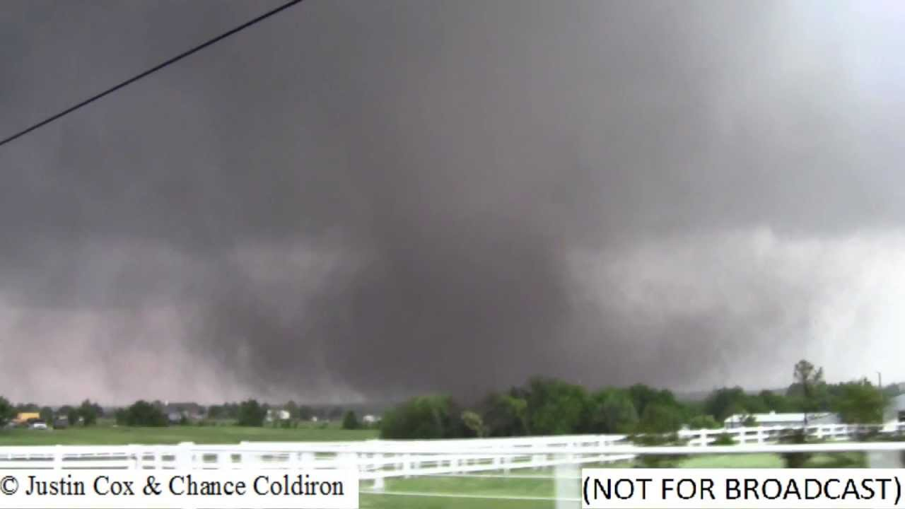 WATCH: Incredible tornado style storm passes through