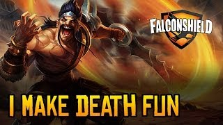 Repeat youtube video Falconshield - I Make Death Fun (League of Legends music - Draven)