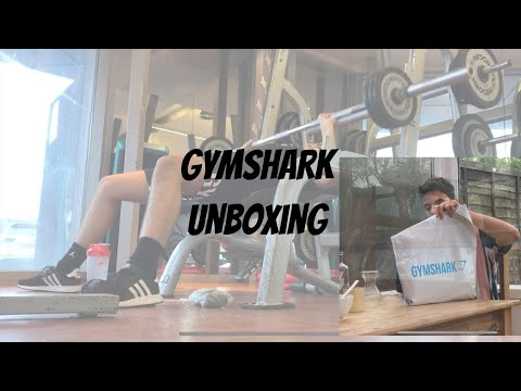 Huge Gymshark Package | Chest Day And Cats