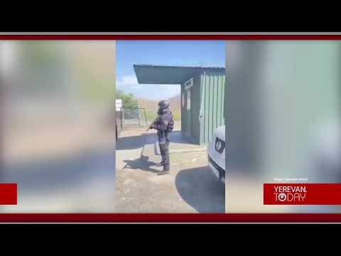 Տեսանյութ. Հերքո՞ւմ էիք,սա էլ ապացույցը՝ Գորիս-Կապան ճանապարհին ադրբեջանական ոստիկանական կետը