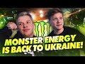 NAVI at the Monster Energy relaunch event