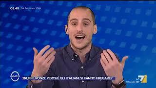 Moretti (Scuola di Trading) spiega le truffe dei cosiddetti schema Ponzi