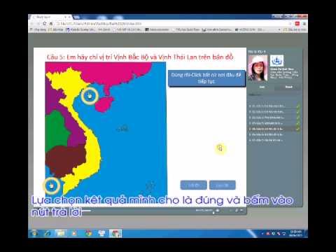 Bài dự thi GVST 2015: Địa lý lớp 4_Bài 29: Biển, đảo và quần đảo