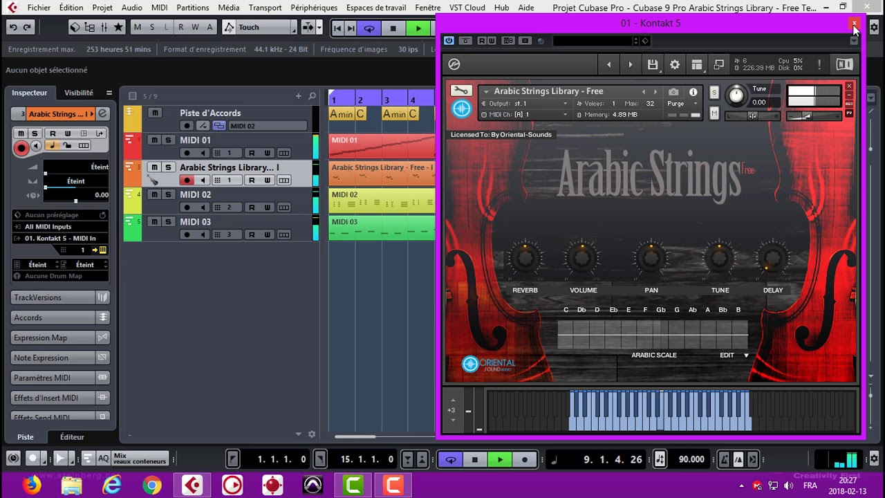 #Review 1 | Arabic Strings Library - Free - Patch: Arabic Strings Library -  Free - I