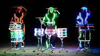 Световое шоу барабанщиков PULSE 2018