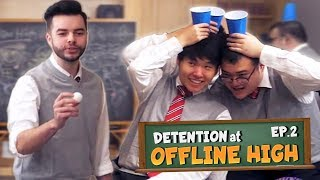 NADESHOT SCHOOLS US IN BEER PONG - DETENTION AT OFFLINE HIGH EP 2 ft. POKIMANE, LILYPICHU & MORE