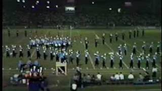 Georgia Southern Marching Band Premier Performance 1983