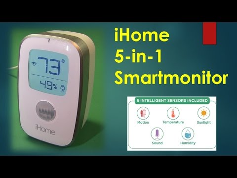 iHome 5 in 1 Smart Monitor iSS50 Prive Drop to $59