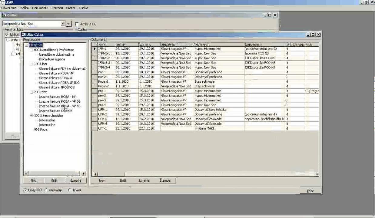 Demo softver za samco trgovanje