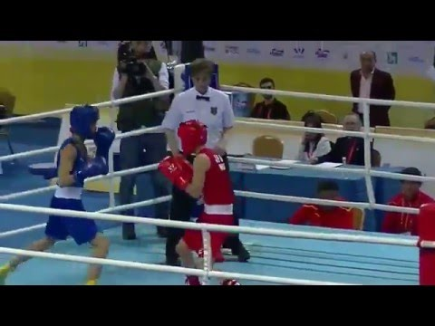 リオ五輪選考会 女子ボクシング 和田まどか 2016アジア選手権