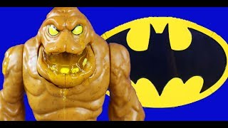 Imaginext Oozing Clayface And Robin + Batman Slime Battle ! Superhero Toys